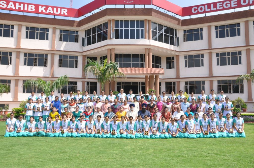 Mata Sahib Kaur College of Nursing, Balongi