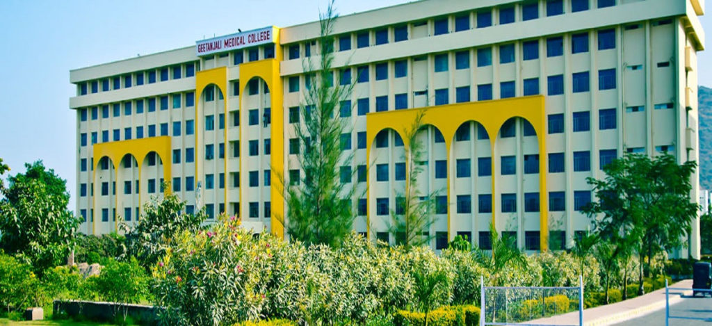Geetanjali Medical College and hospital, (GMCH) Udaipur, Rajasthan